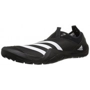 adidas Outdoor Men's Climacool Jawpaw Slip-on Water Shoe, Black/White/Utility Black, 7 M US