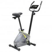 vidaXL Bicicleta estática magnética com medição pulso