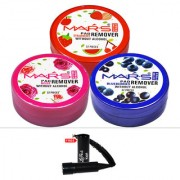 Mars Strawberry Blueberry Rose Nail Paint Remover With Free LaPerla Kajal