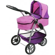 Knorrtoys® Puppenwagen »Cico - pink purple«, 2-in-1