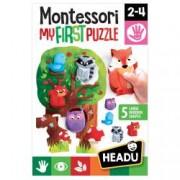 Montessori Primul Meu Puzzle-Padure.Varsta recomandata 2 - 4 ani