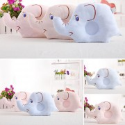 EH Almohada De Elefante De Cabeza Plana Anti-Roll Evitar La Posición Para Dormir Para Recién Nacido - Azul