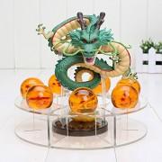 15cm Dragon Ball Z Action Figure Set Dragon+7pcs 3.5cm Balls+Shelf Figures