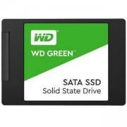 Твърд диск SSD WD Green 3D NAND 480GB 2.5 инча SATA III SLC, read-write: up to 545MBs, 430MBs, WDS480G2G0A