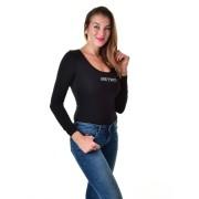 Retro Jeans női hosszú ujjú body PEG 21P098-L19D030