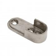 Intensions Practical extra steun roede 17 mm metaal ovaal 2 stuks