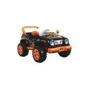 Mini Veículo Jeep Desert Biemme Paragon Preto