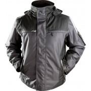 Winterjacke YUKON, Farbe schwarz/grau, Größe 2XL