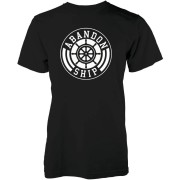 Abandon Ship Team Logo Heren T-shirt - Zwart - M - Zwart