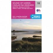 Ordnance Survey Sound Of Harris Carta escursionistica