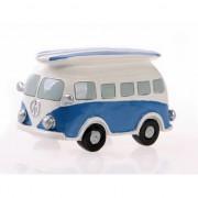 Geen Spaarpot blauwe Volkswagen bus