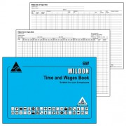 WILDON WAGE BOOK WILDON 6W(EACH)