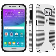 Speck CandyShell Grip Case for Samsung Galaxy S6 - White/Black