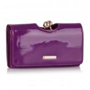 Női lakk pénztárca - LILA