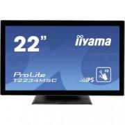 Iiyama LED monitor 55.9 cm (22 palec) Iiyama ProLite TF2234MC-B6X N/A 16:9 8 ms VGA, HDMI™, DisplayPort, USB IPS LED