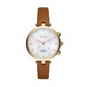 レディース KATE SPADE New York Holland Hybrid Smartwatch スマートウォッチ ブラウン