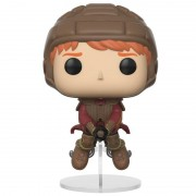 Pop! Vinyl Figura Pop! Vinyl Ron Montado en Escoba - Harry Potter