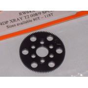 RW 64X87T 87 Tooth Xray T4, T2, T3 Offset Supa-lite Spur Gears 64dp