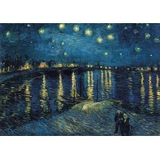 Puzzle Ravensburger - Vincent Van Gogh, Night Over The Rhone, 1.000 piese (15614)