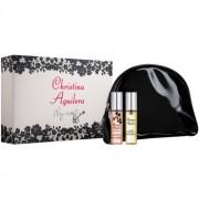 Christina Aguilera My Secret lote de regalo I. eau de parfum 2 x 10 ml + bolsa para cosméticos