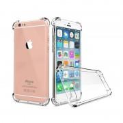 Husa Iphone 6/6S Silicon colturi antisoc - Transparent
