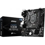 MSI H310M PRO-VDH PLUS moederbord LGA 1151 (Socket H4) Intel® H310 micro ATX