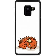 Galaxy A8 Plus 2018 Hardcase Hoesje Sleeping Dragon