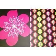Pink Light Design 2 Folder Set ~ Its a Breeze by Pink Chandelier (Large Flower, Fun Design)