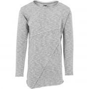 Urban classics - grå asymmetrisk lång Terry crewneck L