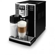 Автоматична еспресо машина, Philips Series 5000, 5 напитки, Вградена кана за мляко, AquaClean, PianoBlack (EP5360/10)
