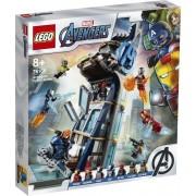 Lego Marvel Super Heroes (76166). Battaglia sulla torre degli Avengers