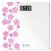 Електронен кантар Tefal PP1078V0, Premiss Japanese Blossom, LCD дисплей, до 150 килограма, Бял/Розов