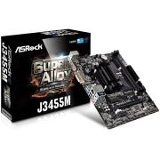 MB, ASRock J3455M /Intel J3455/ DDR3/ Micro ATX