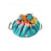 PLAY & GO Speelgoed Bag Outdoor voor kids - Blauw/Roze