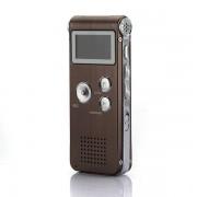 Digitale Spraakrecorder en MP3 Speler 8GB