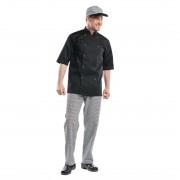 Chaud Devant Hilton Poco koksbuis korte mouw zwart XL - XL
