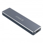 ORICO PVM2-C3 Mini Clip-open M.2 SSD Enclosure - Grey