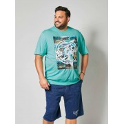 men plus T-shirt Men Plus Mint