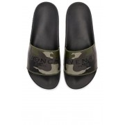 Givenchy Polyurethane Slides in Green,Abstract. - size 41 (also in 39,40,42,43,44,45)