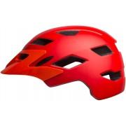 Bell Sidetrack Casco de bicicleta para niños Rojo un tamaño