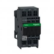 Mágneskapcsoló, 4kW/9A (400V, AC3), 220V AC 50/60 Hz vezerlés, 1Z+1Ny, rugós csatlakozás, TeSys D (Schneider LC1D093M7)