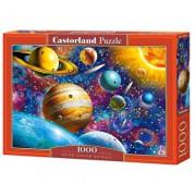 Puzzle Odiseea Sistemului Solar, 1000 piese