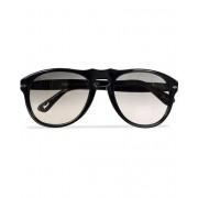 Persol PO0649 Sunglasses Black/Crystal Grey Gradient