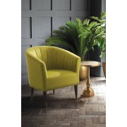 My-Furniture Fauteuil Bellini, velours olive