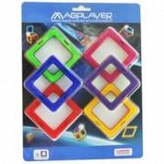 Joc de constructie magnetic Magplayer - 6 piese