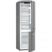 Combina frigorifica Gorenje Retro ORK192X, Frost Less, A++, 326 l, Control electronic, H 194 cm, Silver