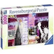 Puzzle Colaj New York, 1000 piese