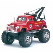 JGG Jain Gift Gallery Chevrolet 3100 Wrecker (Off Road) - 5'' Die Cast Metal Doors Openable Pull Back Action Color