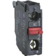 Bloc contacte revenire cu arc - 1 no - montare în casetă spate - Posturi de comanda 2 - ZENL1111 - Schneider Electric
