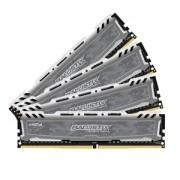 Memorie Crucial Ballistix Sport LT 32GB (4x8GB) DDR4 2400MHz 1.2V CL16 Quad Channel Kit, BLS4C8G4D240FSB
